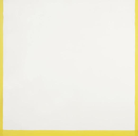 Antonio Calderara Spacio, colore, luce. 1972 Huile sur bois. 54 x 54 cm