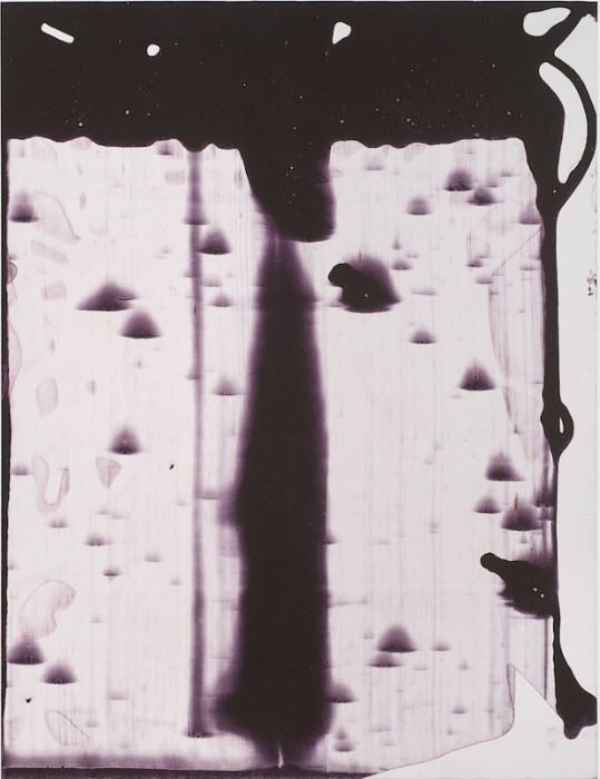 Marthe Wéry Sans titre 2004. Acrylique sur forex. 40 x 31 cm