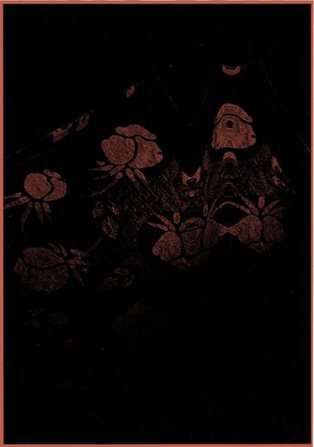 Jacqueline Mesmaeker. Ramasse-miettes, 2009, photocopie sur papier de couleur, 29,5 x 21,5 cm
